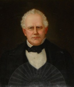 Portrait of the Hon. John Howe Peyton, Augusta County Courthouse, Staunton, Virginia