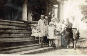The Kennedy Family, c. 1925 (1907 Montgomery Hall House)