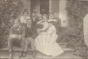 The Peck Family, c. 1901 (1824 Montgomery Hall house)
